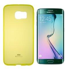 Kaitseümbris Roar Ultra Slim 0.3mm sobib Samsung Galaxy S6 Edge (G925), kollane