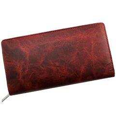 Rahakott Genuine Leather 808MRN hind ja info | Rahakott Genuine Leather 808MRN | kaup24.ee