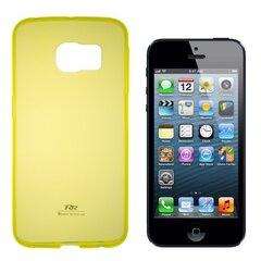 Kaitseümbris Roar Ultra Slim 0.3mm sobib Apple iPhone 5/5S, kollane