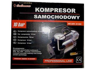 Õhukompressor 12V 10 bar