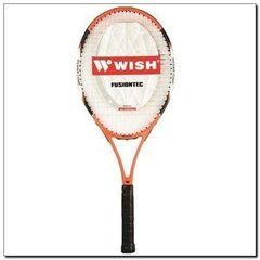 Tennisereket WISH FUSIONTEC 530 must/oranž