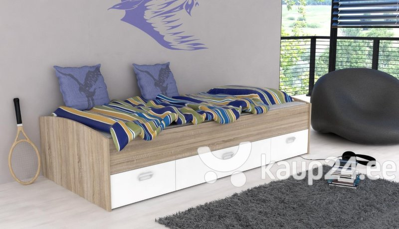 voodi mia 90x200 cm hind e pood. Black Bedroom Furniture Sets. Home Design Ideas