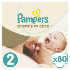 Mähkmed PAMPERS Premium Care 2 suurus, 80 tk