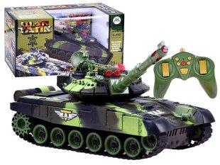 Дистанционно управляемый танк War Tank, зеленый цена и информация | Игрушки для мальчиков | kaup24.ee