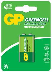 GP Greencell patarei 6F22 (9V)