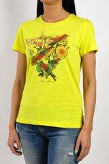 Naiste t-särk Vigoss, kollane hind ja info | Naiste T-särgid | kaup24.ee