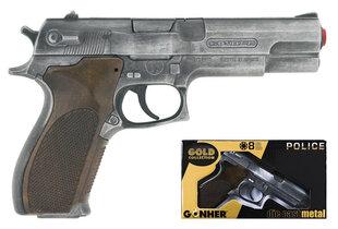 Politseiniku mängupüstol Gonher, 45/1 hind ja info | Poiste mänguasjad | kaup24.ee