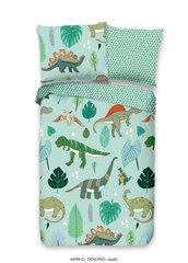 Laste 3D voodipesukomplekt Good Morning Dinono 100x135, 2-osaline hind ja info | Voodipesu lastele ja imikutele | kaup24.ee