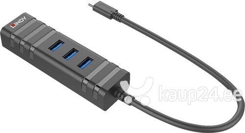 Lindy 43249 hind ja info | USB jagajad, adapterid | kaup24.ee