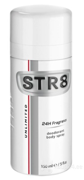 Spreideodorant STR8 Unlimited meestele 150 ml