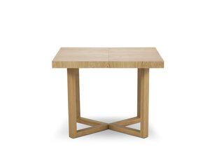 Pikendatav laud Windsor & Co Skarde 100 cm, pruun hind ja info | Köögi- ja söögilauad | kaup24.ee