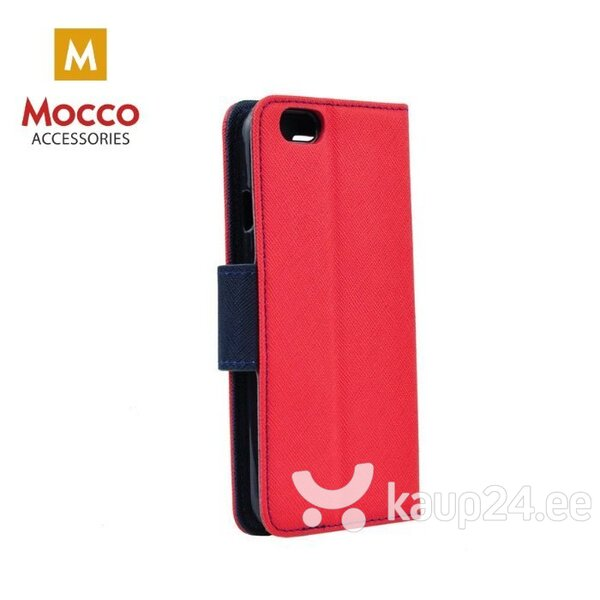 Mocco Fancy Book Case For Apple iPhone XS / X Sarkans - Blue hind ja info | Telefoni kaaned, ümbrised | kaup24.ee