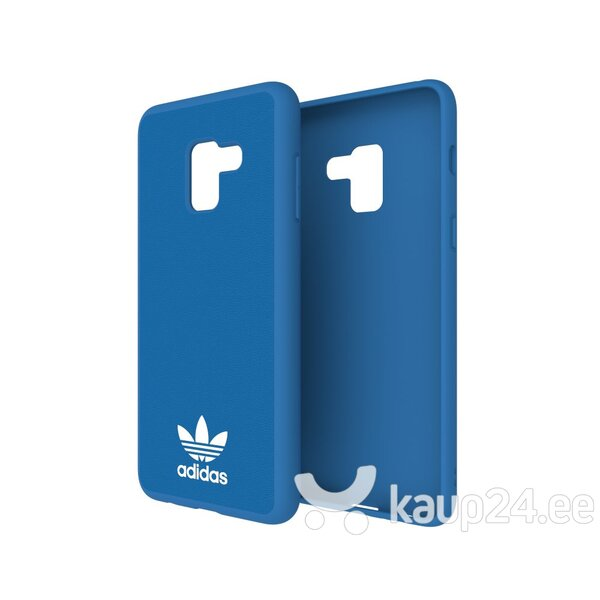 Adidas OR Moulded Case - Bumper for Samsung A730 Galaxy A8+ (2018) Blue (EU Blister) hind