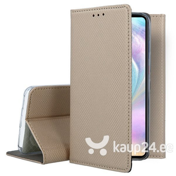Mocco Smart Magnet Book Case For LG G7 / LG G7 ThinQ Gold tagasiside