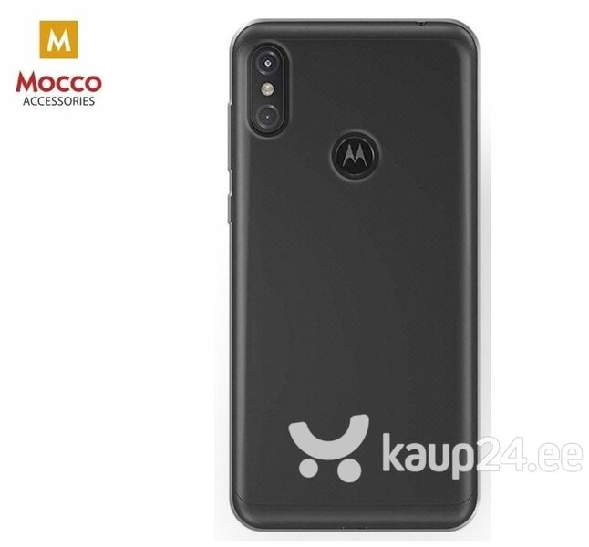 Mocco Ultra Back Case 0.3 mm Silicone Case for Motorola One / P30 Play Transparent hind ja info | Telefoni kaaned, ümbrised | kaup24.ee