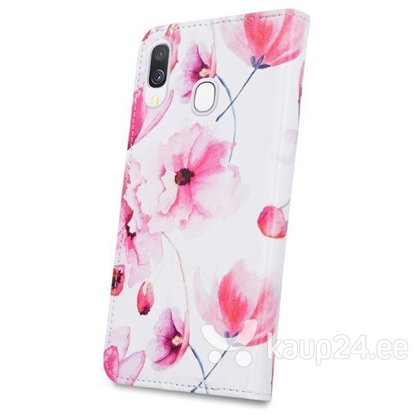 Mocco Smart Trendy Book Case For Samsung G960 Galaxy S9 Pink Flowers soodsam