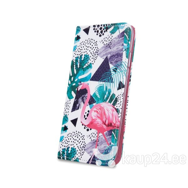 Mocco Smart Trendy Book Case For Samsung G960 Galaxy S9 Flamingo and Plants tagasiside