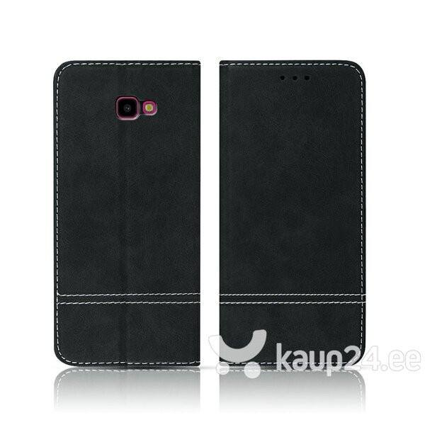 Mocco Suede Book Case For Samsung A305 Galaxy A30 Black hind