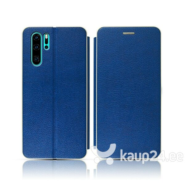 Mocco Frame Book Case For Sony Xperia XA3 / Xperia 10 Blue tagasiside
