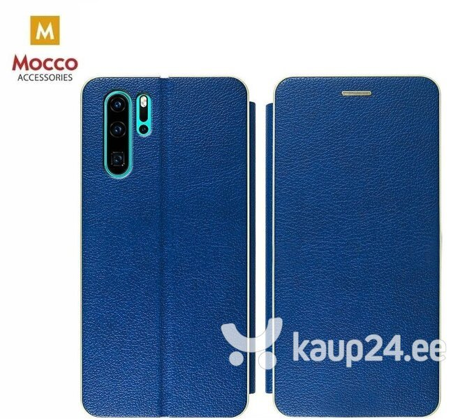 Mocco Frame Book Case For Sony Xperia XA3 / Xperia 10 Blue hind ja info | Telefoni kaaned, ümbrised | kaup24.ee