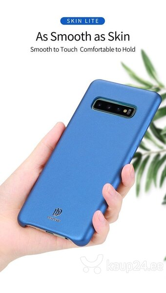 Dux Ducis Skin Lite Case High Quality and Protect Silicone Case For Samsung G975 Galaxy S10 Plus Blue tagasiside
