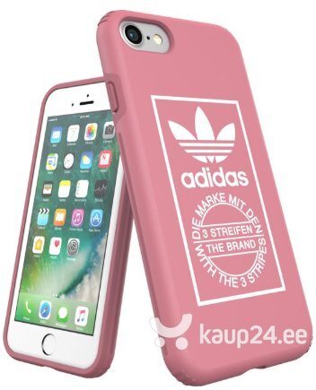 Adidas Snap Case Silicone Case for Apple iPhone 7 / 8 Pink (EU Blister) Internetist
