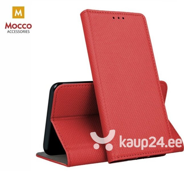 Mocco Smart Magnet Book Case For Samsung A305 Galaxy A30 Red hind ja info | Telefoni kaaned, ümbrised | kaup24.ee