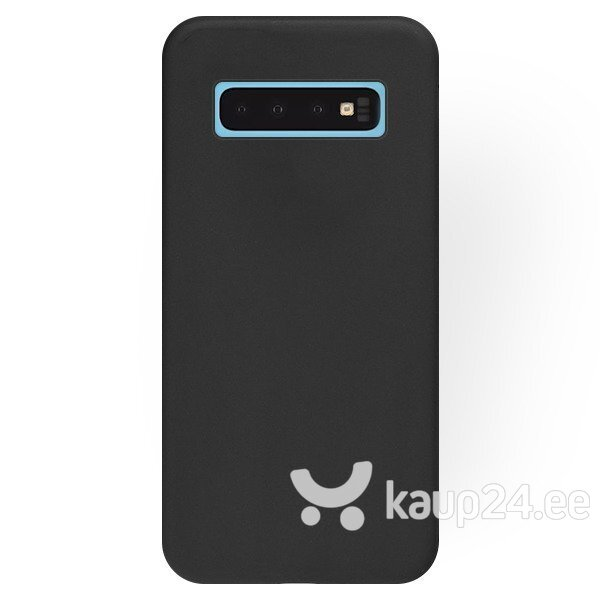 Mocco Soft Magnet Silicone Case With Built In Magnet For Holders for Samsung A705 Galaxy A70 Black hind