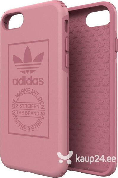 Adidas OR TPU Hard Case - Bumper for Apple iPhone 7 / 8 Pink (EU Blister) hind