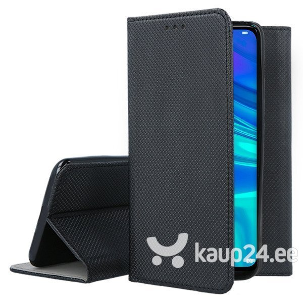 Mocco Smart Magnet Book Case For LG G8 / LG G8 ThinQ Black hind