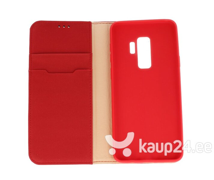 Dux Ducis Wish Magnet Case From The Real Leather For Samsung N960 Galaxy Note 9 Red Internetist
