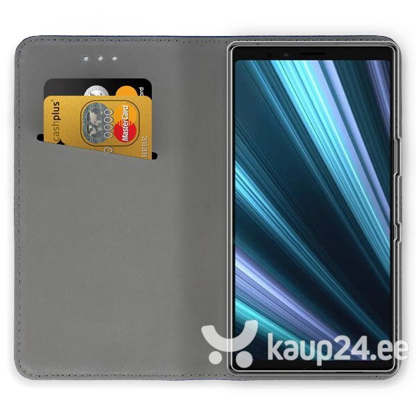 Telefoniümbris Mocco Smart Magnet Book Case For Sony Xperia XZ4 Blue Internetist