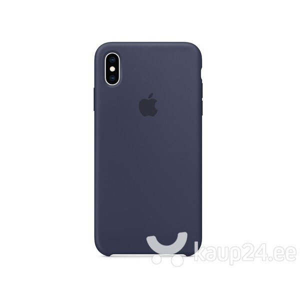 Telefoniümbris Apple iPhone XS Max Silicone Cover, sinine