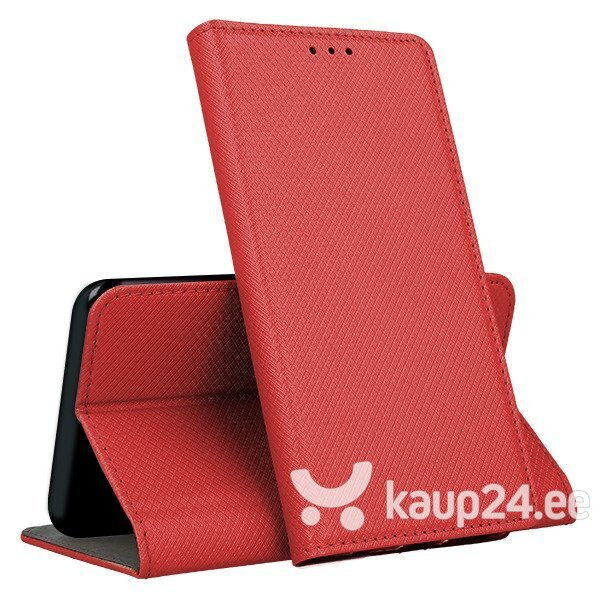 Mocco Smart Magnet Book Case For Xiaomi Mi 10T 5G / Mi 10T PRO Red hind