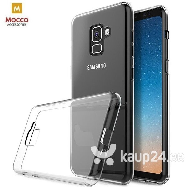 Mocco Ultra Back Case 0.3 mm Silicone Case for Xiaomi Redmi Note 6 Pro Transparent hind ja info | Telefoni kaaned, ümbrised | kaup24.ee