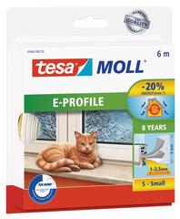 Уплотнительная резинка Tesa E-профиль, белая