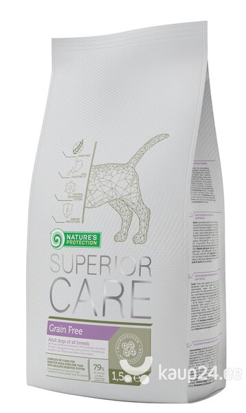 Koeratoit Nature's Protection Superior Care Grain Free 1,5 kg