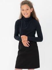 Tüdrukute pikkade varrukatega pluus Password, must hind ja info | Tüdrukute särgid | kaup24.ee