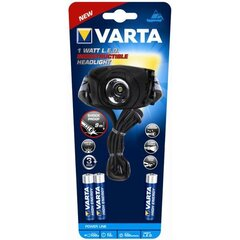 Taskulamp 1 Watt LED Indestructible VARTA
