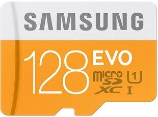 Mälukaart Samsung MICRO SDXC EVO, 128GB