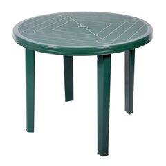 Plastikust laud Opal, roheline hind ja info | Aialauad | kaup24.ee