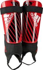 Kaitsmed Adidas X Club (DN8614) XL, punane/must hind ja info | Jalgpalli varustus ja riided | kaup24.ee