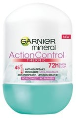 Rulldeodorant Mineral Action Thermic Garnier, 50 ml