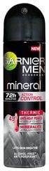 Spreideodorant meestele Mineral Action Thermic Garnier Mineral, 150 ml