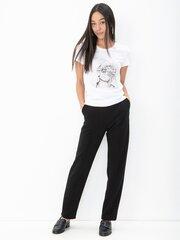 Naiste T-särk Only, valge hind ja info | Naiste T-särgid | kaup24.ee