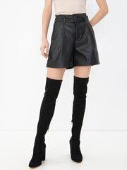 Naiste lühikesed püksid Vero Moda, must hind ja info | Naiste püksid | kaup24.ee