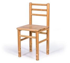 Reguleeritava kõrgusega lastetoolid, 2 tk, 28-36 cm, pruunid hind ja info | Laste lauad ja toolid | kaup24.ee