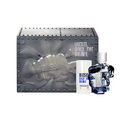 Komplekt Diesel Only The Brave: EDT meestele 125ml + pulkdeodorant 75ml