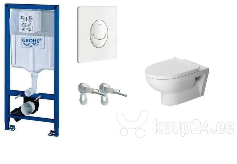 WC komplekt Grohe Rapid SL 3in1 koos nupuga Skate Air+DuraStyle Basic