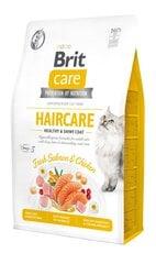 Teraviljavaba kuivtoit kassidele Brit Care spetsiaalseks karvkatte hoolduseks, 7 kg hind ja info | Kuivtoit kassidele | kaup24.ee